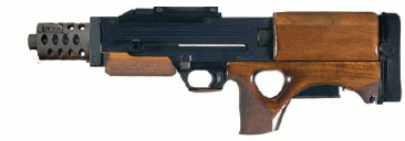 Delphi Arms SC Mk5 Submachine gun